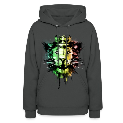 womens king lion sweatshirt - Women's Hoodie