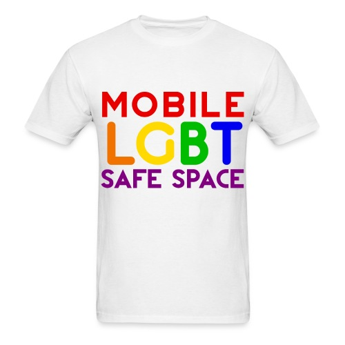 Mobile Safe Space  - Men's T-Shirt