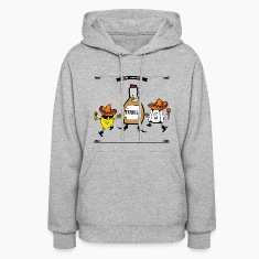 Tequila Best Friends Forever Hoodies