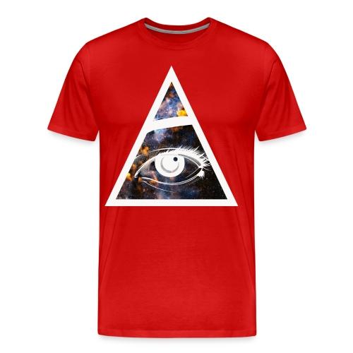 All seeing eye. Mens - Men's Premium T-Shirt