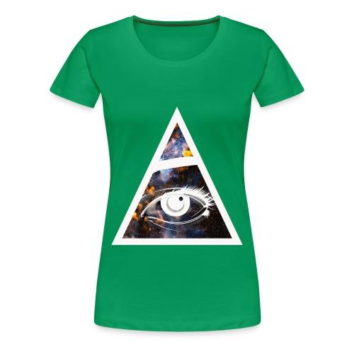 All seeing eye. Womens. - Women's Premium T-Shirt