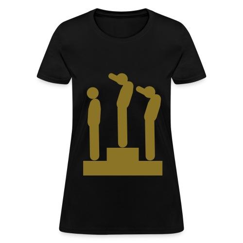 Olympics Black Power Fist Shirt - Women's T-Shirt