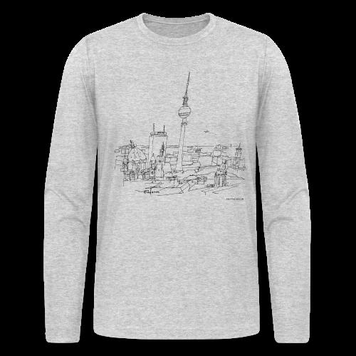 Berlin - Men's Long Sleeve T-Shirt by Next Level