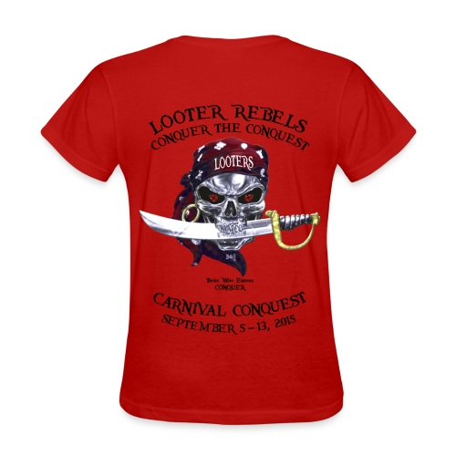Carnival Conquest Women's Tee (Front+Back) - Women's T-Shirt