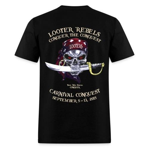 Carnival Conquest (Dark - Front+Back) - Men's T-Shirt