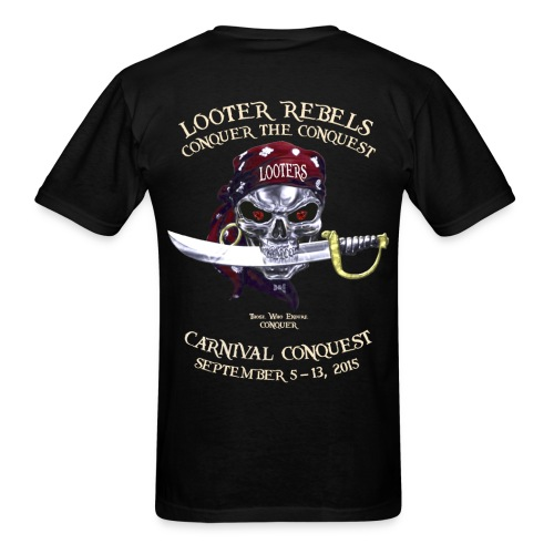 Carnival Conquest (Dark - Front+Back) - Men's T-Shirt