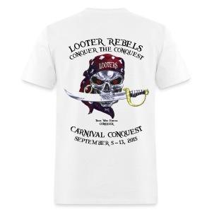 Carnival Conquest (Light - Front+Back) - Men's T-Shirt