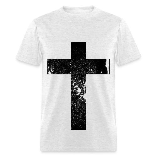 Grunge Cross - Men's T-Shirt