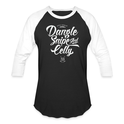 Dangle Snipe and Celly - Baseball T-Shirt