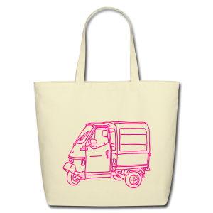 Tricycle Van - Eco-Friendly Cotton Tote