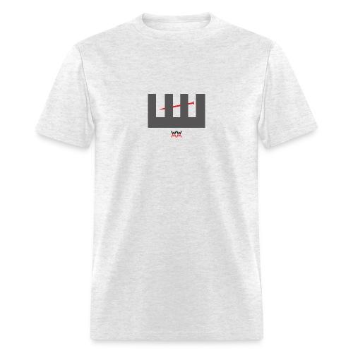 Nail-Through-Wood - Men's T-Shirt