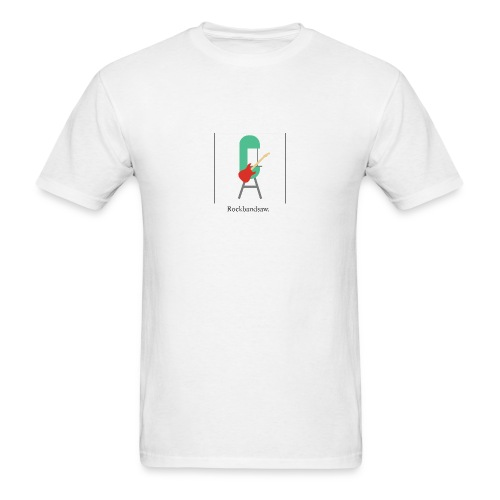 Gallery Collection -- Rockbandsaw - Men's T-Shirt