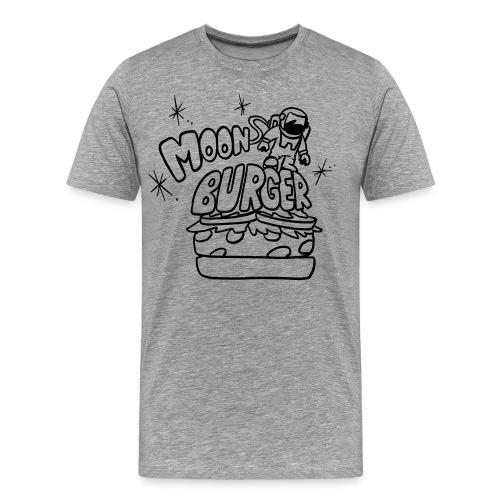 Men's Premium T-Shirt - women,wacky,urban,universal,t-shirt,sweatshirt,sun,shirt,moon burger,moon,mens,kids,hipster,hip,geek,funny,food,design,cool,cartoon,burger,art,World,US,America