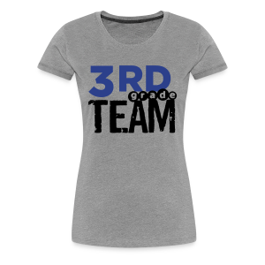 Women's Premium T-Shirt - Women's 3rd Grade Team. The place for AMAZING teacher shirts for all grades and special school days! With Teacher T-Shirts you get fun designs for spirit wear in all sizes. **See printing/care information below. Size/Measurement details available at the bottom of this page.**