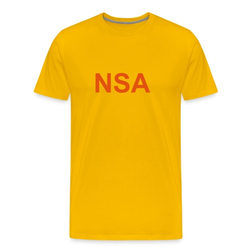 NSA - Men's Premium T-Shirt