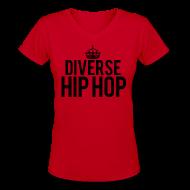 Women's T-Shirts ~ Women's V-Neck T-Shirt ~ DHH Crown (Women / V-Neck)