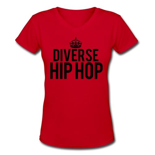 DHH Crown (Women / V-Neck) - Women's V-Neck T-Shirt