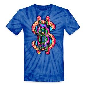 All The Money (Tie Dye) - Unisex Tie Dye T-Shirt