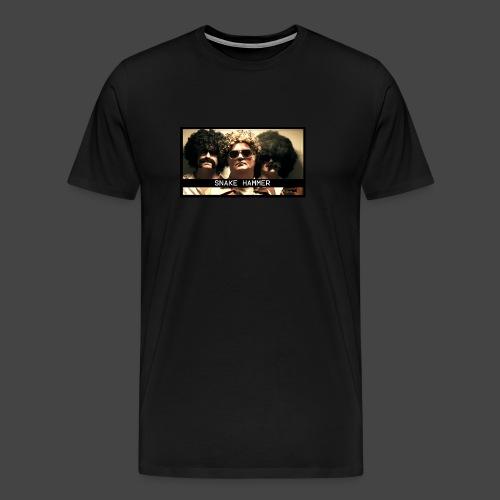Snake Hammer Funk Face | Men's Tee - Men's Premium T-Shirt