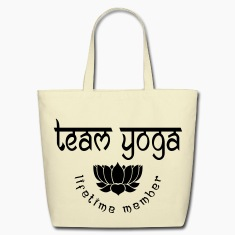 Team Yoga Lifetime Member Bags & backpacks