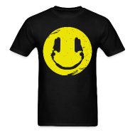 T-Shirts ~ Men's T-Shirt ~ Music Smile