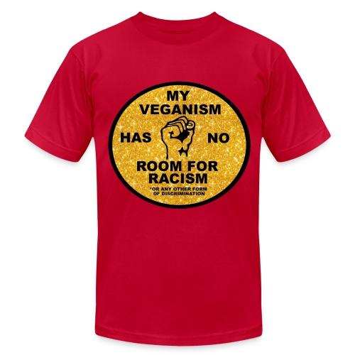 Vegans Against Racism - Men's Fine Jersey T-Shirt