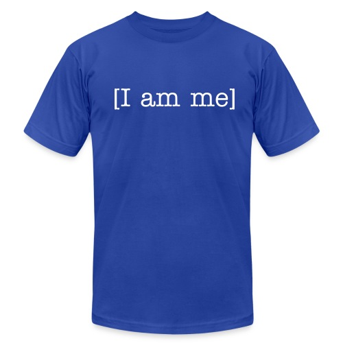Nick Spinelli I am Me Men's Tee! - Men's Fine Jersey T-Shirt