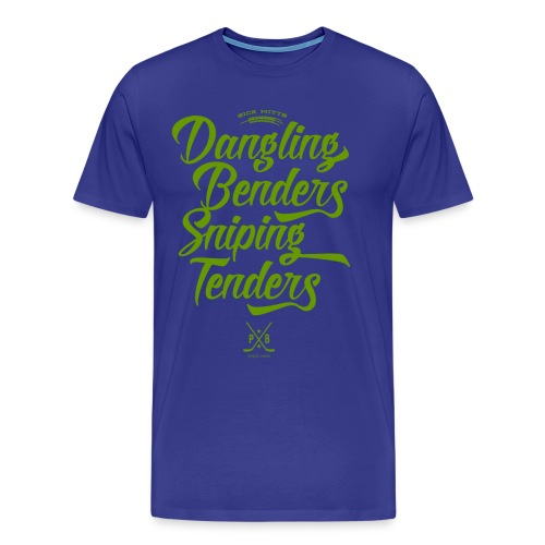 Dangling Benders Sniping Tenders - Men's Premium T-Shirt