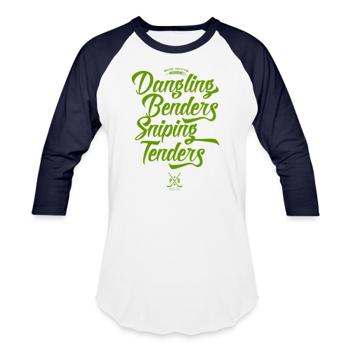 Dangling Benders Sniping Tenders - Baseball T-Shirt