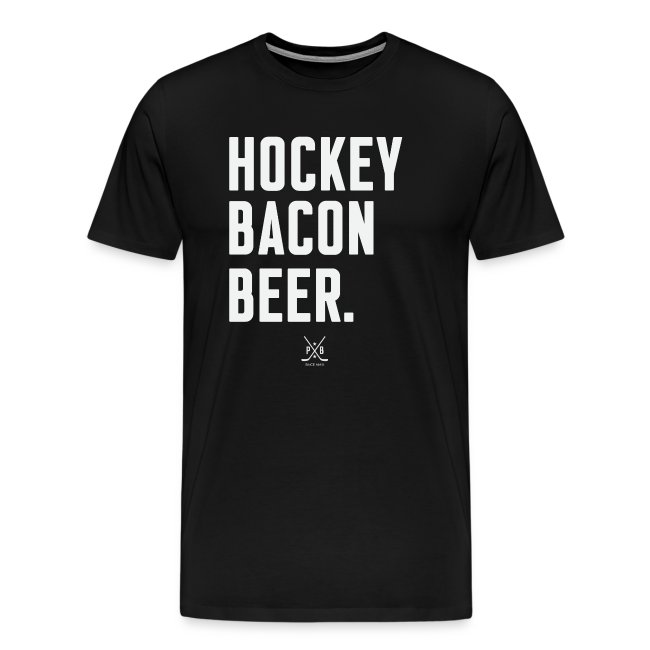 Hockey Bacon Beer