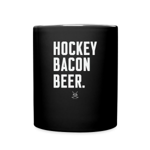 Hockey Bacon Beer - Full Color Mug