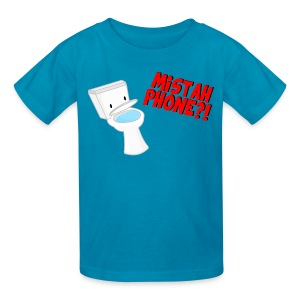 Kids Mistah Phone?! T-Shirt  - Kids' T-Shirt