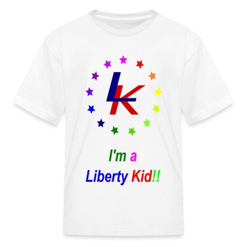 The Liberty Kid - Kids' T-Shirt