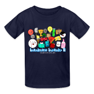 Kids' Shirts ~ Kids' T-Shirt ~ Kid's Inanimate Insanity II (Season 2) Full Cast Shirt *NEW*