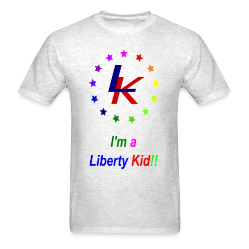 The Liberty Kid - Men's T-Shirt