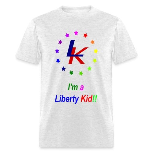 The Liberty Kid - Men's T-Shirt