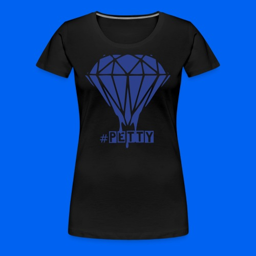 Petty Diamond (blue) - Women's Premium T-Shirt