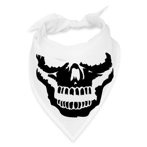 Skull Print Bandana - Bandana