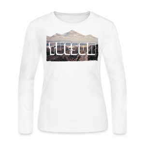 Tucson - WOMEN LONG SLEEVE - Women's Long Sleeve Jersey T-Shirt