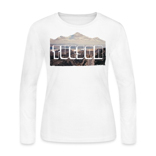 Tucson - WOMENS LONG SLEEVE - Women's Long Sleeve Jersey T-Shirt