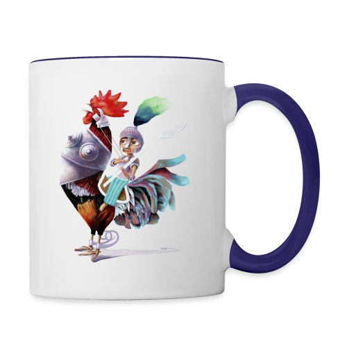 Gladiator (Coffee Mug) - Contrast Coffee Mug