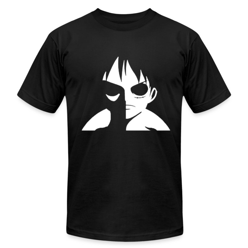 Luffy minimalist t shirt spreadshirt for Be creative or die shirt