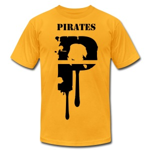 Pirates7 - Men's T-Shirt by American Apparel