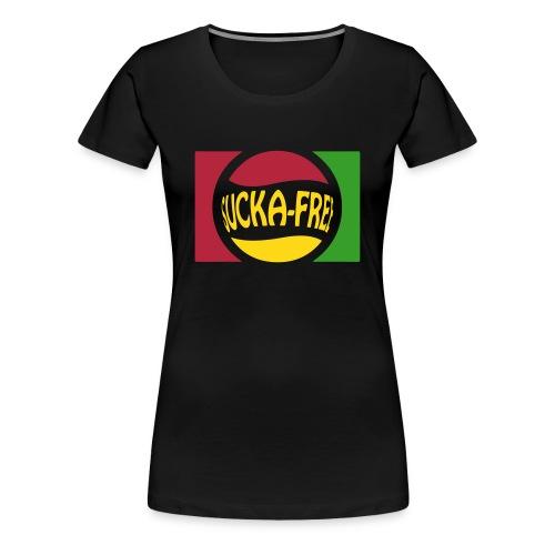 Sucka Free Tee (Africa) - Women's Premium T-Shirt