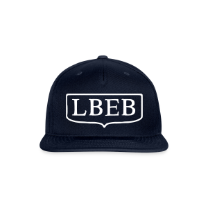 LBEB Snapback hat - Snap-back Baseball Cap