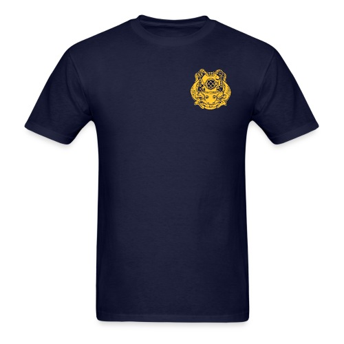 NDSTC w/ Dive Badge - Men's T-Shirt