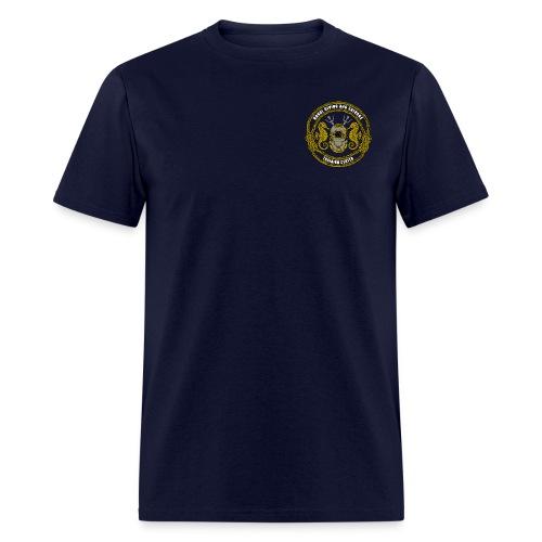 NDSTC Logo Left Chest - Men's T-Shirt