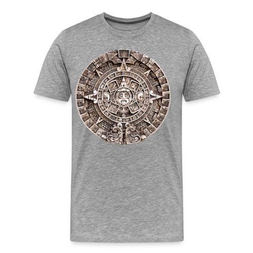 Mayan calender - Men's Premium T-Shirt