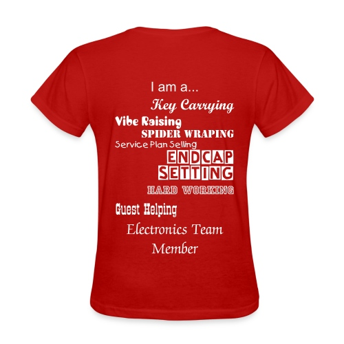 Women's Electronic Team Member Shirt - Women's T-Shirt