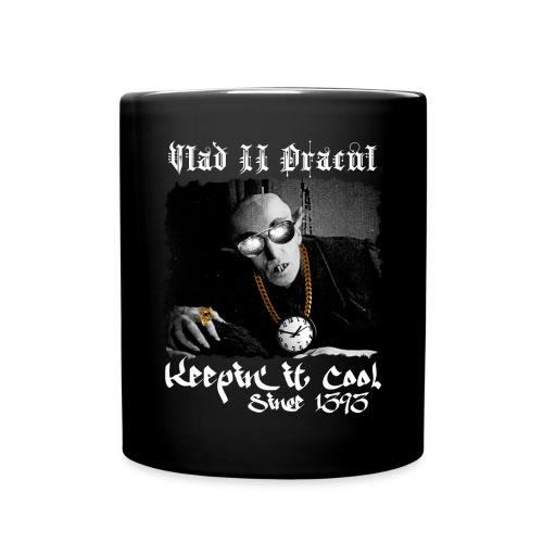 Pimp Dracula - Vlad II Dracul - White Text - Full Color Mug